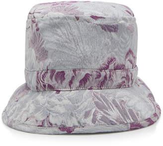 Anna Sui Peonies Jacquard Hat