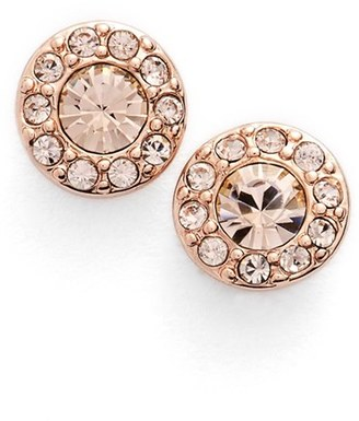Women's Givenchy Small Crystal Stud Earrings $32 thestylecure.com