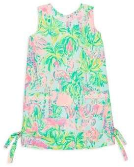 Lilly Pulitzer Toddler's, Little Girl's& Girl's Printed Classic Cotton Shift Dress