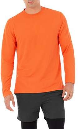 152e8ed07 Athletic Works Big Men s Active Performance Long Sleeved Crew Neck Tee