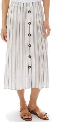 Apt. 9 Women's Crepon Pull-On Skirt