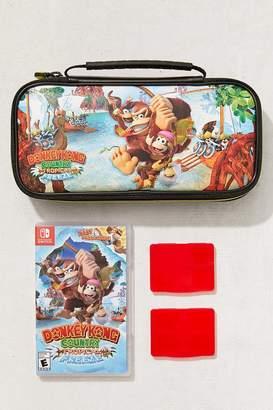 Nintendo Switch Donkey Kong Travel Case Bundle