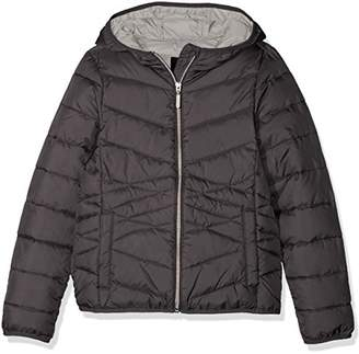 S'Oliver Girl's 73.708.51.2427 Jacket, (Dark Grey 9858)