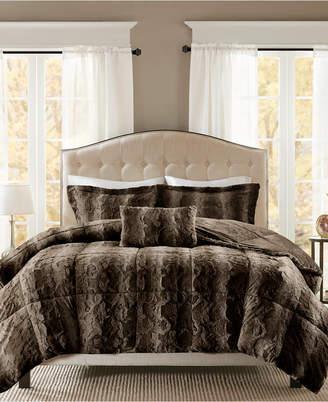 Madison Park Zuri 4-Pc. King Comforter Set Bedding