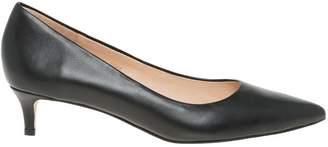 Le Château Women's Leather Kitten Heel Pump