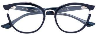 Dita Eyewear Mikro butterfly frame glasses