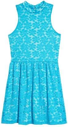 Penelope Tree Hailee Lace Dress (Big Girls)