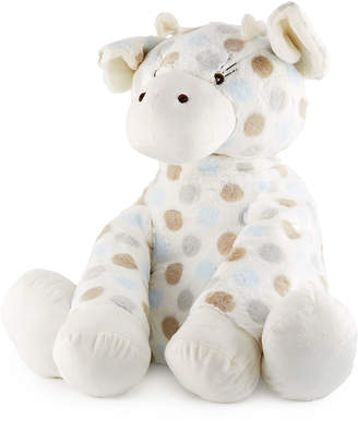 Little Giraffe Big G Plush Polka-Dot Giraffe, Blue