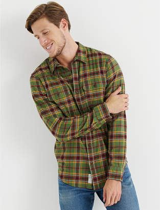 Lucky Brand LONG SLEEVE CLEAN TWO POCKET WORKWEAR