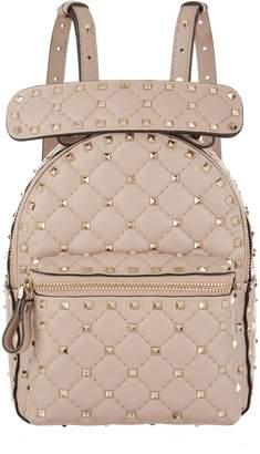 Valentino Mini Leather Spike Backpack