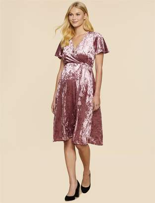 Jessica Simpson Motherhood Maternity Wrap Maternity Dress
