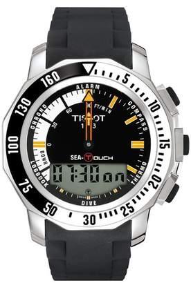 Tissot Men's Sea-Touch in Feet Sport Watch, 44.4mm