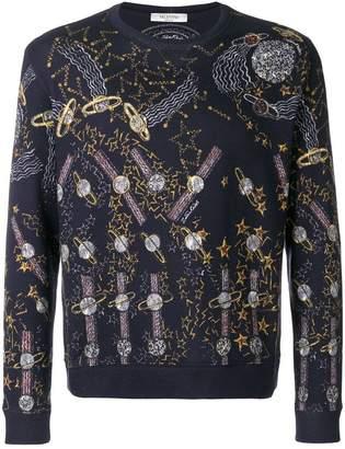 Valentino Zandra Lunar Park sweatshirt