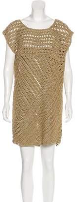 Tory Burch Heavy Knit Mini Dress