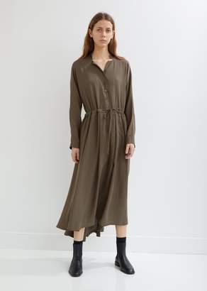 Black Crane Classy Long Sleeve Dress