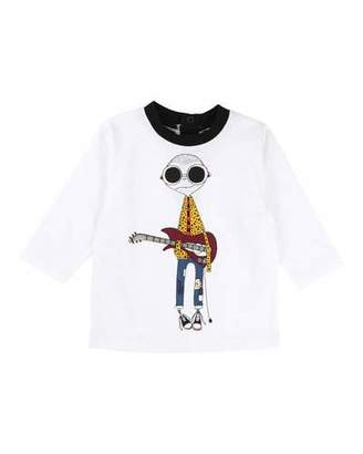 Little Marc Jacobs Mister Marc Essential Graphic Tee, Size 12-18 Months