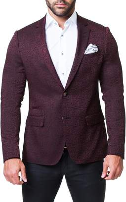 Maceoo Socrate Paisley Slim Fit Blazer