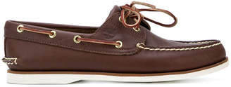 Timberland lace boat shoes