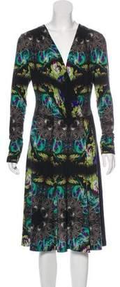 Etro Wool A-Line Dress