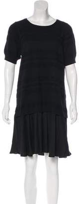 Timo Weiland Short Sleeve Sweater Dress