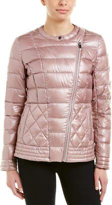 Via Spiga Asymmetrical Packable Puffer Jacket