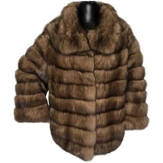 J. Mendel J.Mendel J.mendel Brown Fur Coats