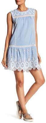 Joie Josune Sleeveless Drop Waist Dress