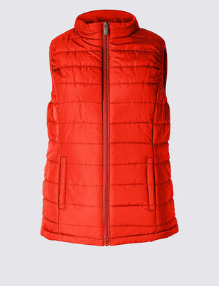 M&S Collection Padded & Quilted Gilet