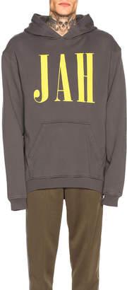 Alchemist Jah Hoodie in Black & Yellow | FWRD