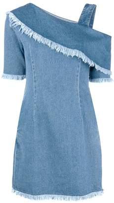 Sjyp One sleeve denim dress