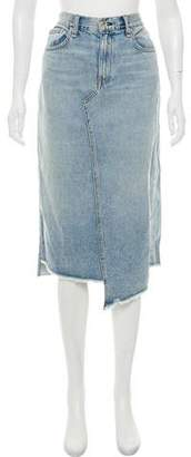 Rag & Bone Knee-Length Denim Skirt