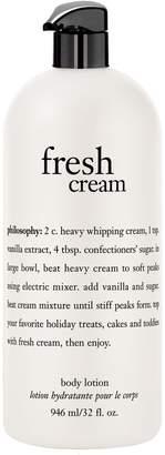 philosophy fresh cream body lotion 32 oz