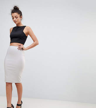 Asos Tall Design Tall High Waisted Pencil Skirt