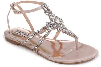 Badgley Mischka Hampden Crystal Embellished Sandal