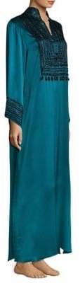 Natori Divinity Mandarin Silk Sleepshirt