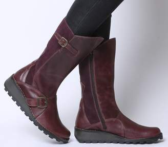 f52bd19b400d2d Fly London Leather Boots For Women - ShopStyle UK