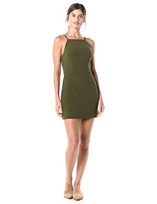 French Connection Women's Whisper Light Square Neck Strappy Dress