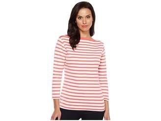 Pendleton Trimmed Stripe Tee Women's T Shirt