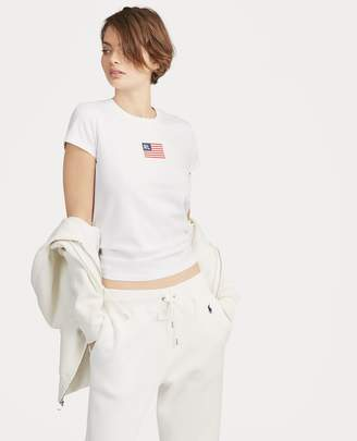 Ralph Lauren Flag Cotton T-Shirt