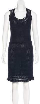 Prada Knee-Length Knit Dress