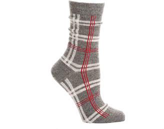 Kelly & Katie Plaid Crew Socks - Women's