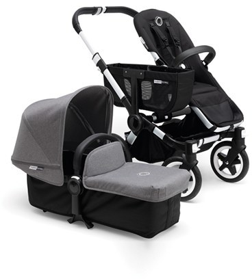 Infant Bugaboo Donkey Mono Complete Stroller With Bassinet