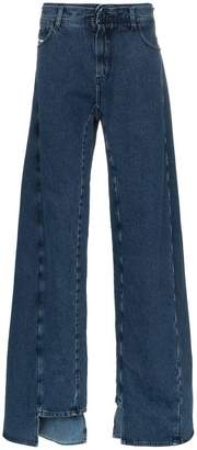 Diesel Red Tag decay wide leg jeans