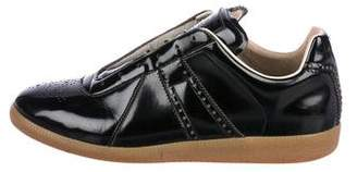 Maison Margiela Replica Patent Leather Sneakers