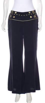 Pierre Balmain High-Rise Wide-Leg Pants w/ Tags