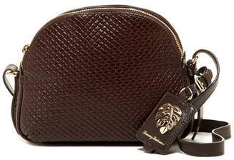 Tommy Bahama St. Augustine Double Zip Leather Crossbody $158 thestylecure.com