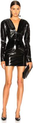 Zeynep Arcay Mini Heart Leather Dress