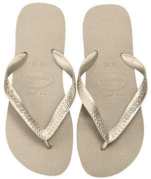 Havaianas Sandals Top Metallic Flip Flop