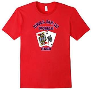 Hillary Clinton Deal Me In Woman Card jack T-Shirt