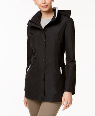 Nautica Hooded Water-Resistant Anorak $150 thestylecure.com